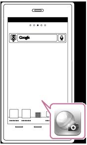 PlayMemories Mobile 시작 화면