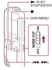 sony icd px333 px333f manual