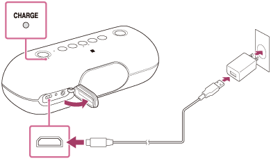 SRS-XB20 | Help Guide | Charging the speaker on usb keyboard wiring, usb pin out schematic, usb plug cover, usb to db9 wiring-diagram, usb cable wiring, usb plug repair, usb power diagram, usb speaker diagram, usb schematic diagram, usb 1.0 pinout, usb to audio wiring, usb plug adapter, usb plug guide, usb 3.0 diagram, usb connector diagram, usb plug sizes, usb to serial wiring-diagram, usb to rj45 wiring-diagram, usb plug types, usb to rca wiring-diagram,